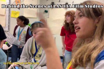 Screenshot - Behind the Scenes of LASOTA Film Studios (LaVilla School of the Arts)