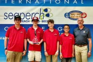 Duval students make a splash at international underwater robotics competition