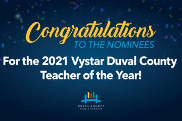 Teacher of the Year banner