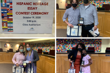 Students pay tribute to their heroes during Hispanic Heritage Essay Contest Ceremony