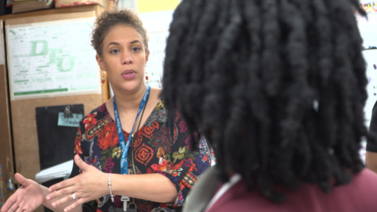 In the classroom with Duval's Teacher of the Year