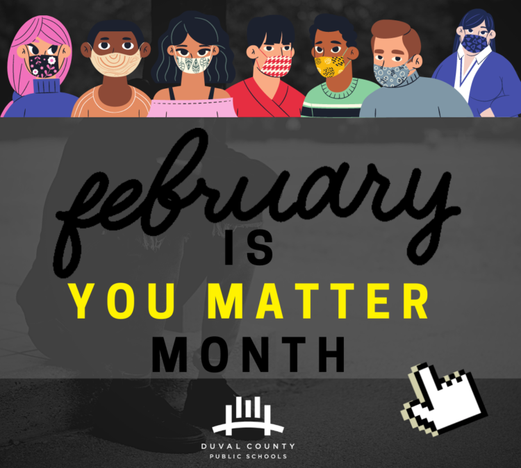 February is You Matter Month