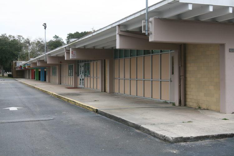 Outside of Rutledge Pearson Elementary