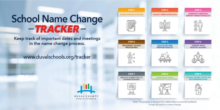 School name change tracker